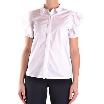 Pinko White Cotton Shirt