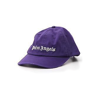 Palm Angels Purple Cotton Hat