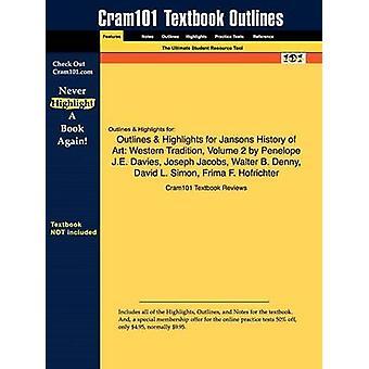 Studiehåndboka for Jansons historie kunst Western tradisjon Volume 2 av Davies Penelope J.E. ISBN 9780131934726 av Cram101 lærebok Kritikken