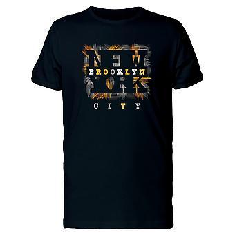 Brooklyn New York Retro City Tee Men's -Image by Shutterstock
