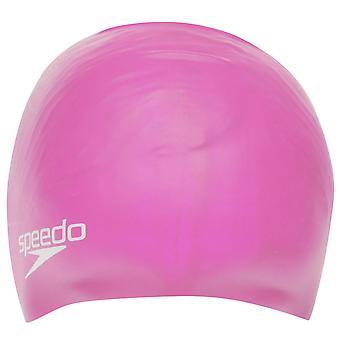 Speedo silicona natación Cap Juniors agua piscina traje de baño accesorios de sombrero de los cabritos