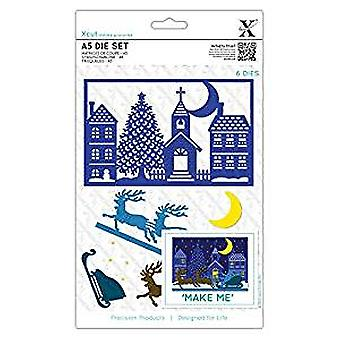 Docrafts Xcut A5 Die Set Build a Scene - Special Delivery (XCU 503350)