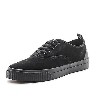 Fred Perry Men's New Casual Vulc Suede Leather Shoes B9126-102