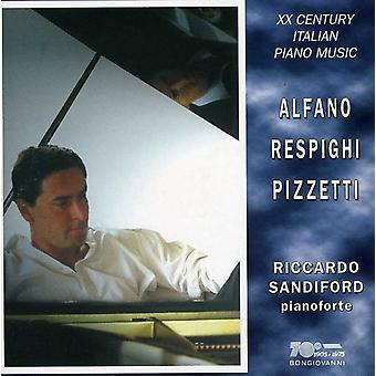 Alfano/Respighi/Pizzetti - 20th Century Italian Piano Music [CD] USA import