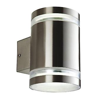 Firstlight-2 Lichtwand licht roestvrijstaal IP44-7405ST