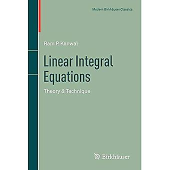 Linear Integral Equations (Modern Birkhauser Classics)