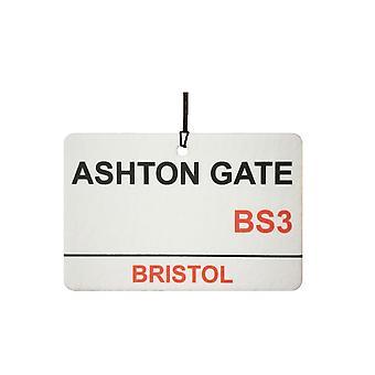 Bristol City / Ashton Gate Street Sign Car Air Freshener