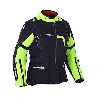 Oxford Black-Fluorescent Montreal Womens Motorcycle Waterproof Jacket