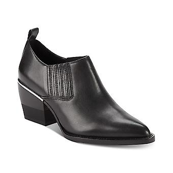 DKNY Womens Roxy - Shootie Leather Closed Toe Ankle Fashion Boots