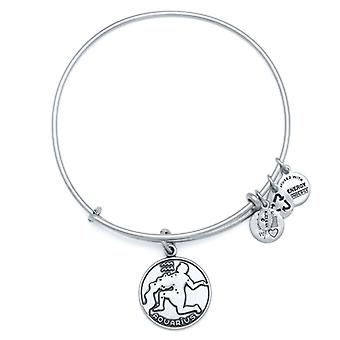 Alex en Ani Aquarius Zilveren Bangle A13EB01AQRS
