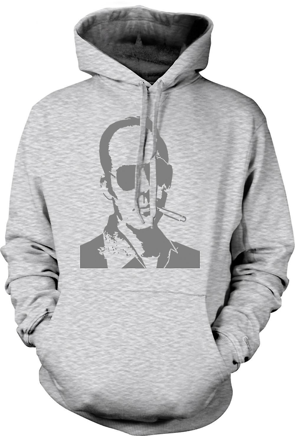 Mens Hoodie - Hunter S Thompson Fear And Loathing