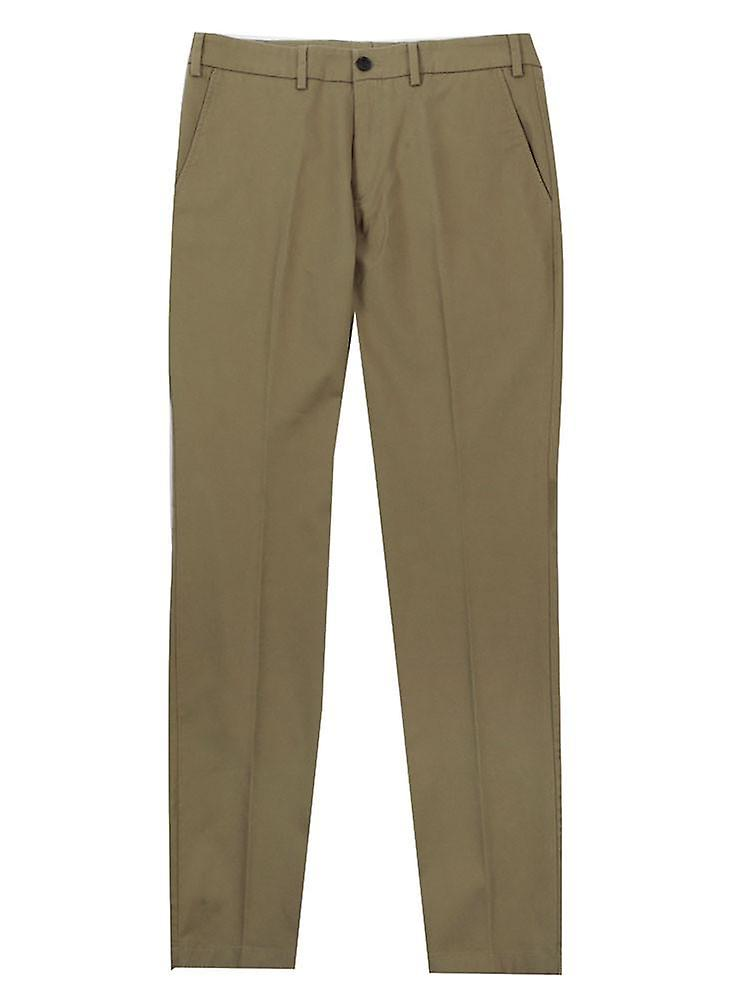 Slim fit chino trousers – classic khaki