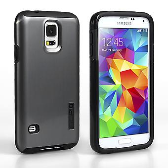 Incipio DualPro Shine for Samsung Galaxy S5 SilverBlack