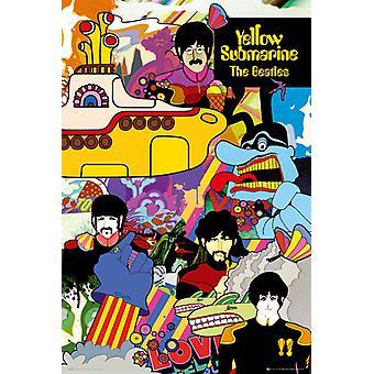De Beatles gele onderzeeër Maxi Poster 61x91.5cm