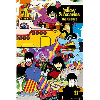 Beatles Yellow Submarine plakat Maxi 61x91.5cm
