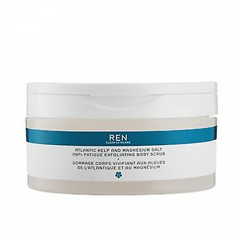 REN Atlantic Kelp and Magnesium Anti-Fatigue Exfoliating Body Scrub 150ml