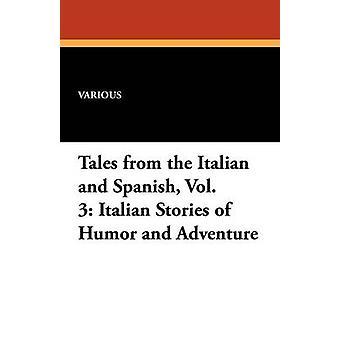 Cuentos del vol. 3 italiano italiano italiano italiano historias de humor y aventura por varios