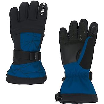 Spyder OVERWEB Gore-Tex Boys luvas de esqui preto