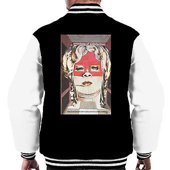A.P.O.H Salvador Dali Overdose Of Satisfaction Men's Varsity Jacket