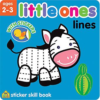 Little Ones Sticker Skill Book-Lines SZLOSSB-06428
