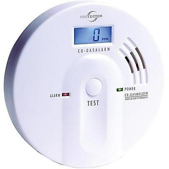 Gas detector Protector 20557 battery-powered detects Carbon monoxide
