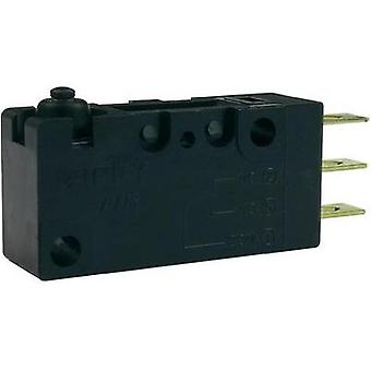 Microswitch 250 Vac 10 A 1 x On/(On) Zippy VW1-10S0-00D3-Z momentary 1 pc(s)