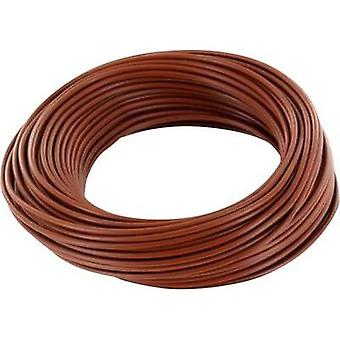Strand 1 x 0.14 mm² Brown BELI-BECO L118/10 bn