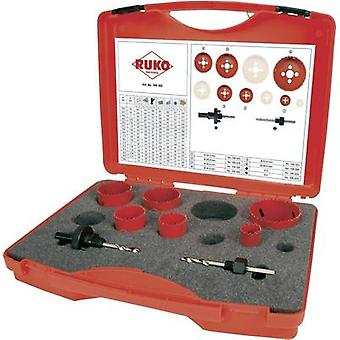 Hole saw set 8-piece RUKO 106302 1 Set