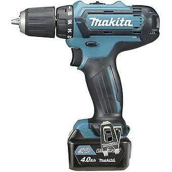 Makita DF331DSMJ Cordless drill 10.8 V 4 Ah Li-ion incl. spare battery, incl. case