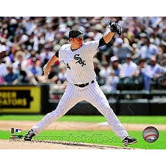 Jake Peavy 2011 Action Sport-Bild (10 x 8)