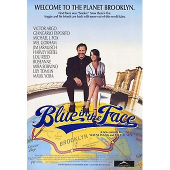 Blue in the Face Movie Poster (11 x 17)