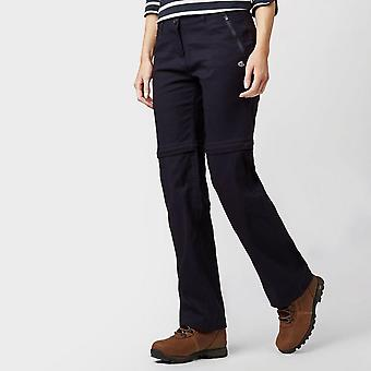 New Craghoppers Women's Kiwi Pro Stretch Convertible Trousers Navy