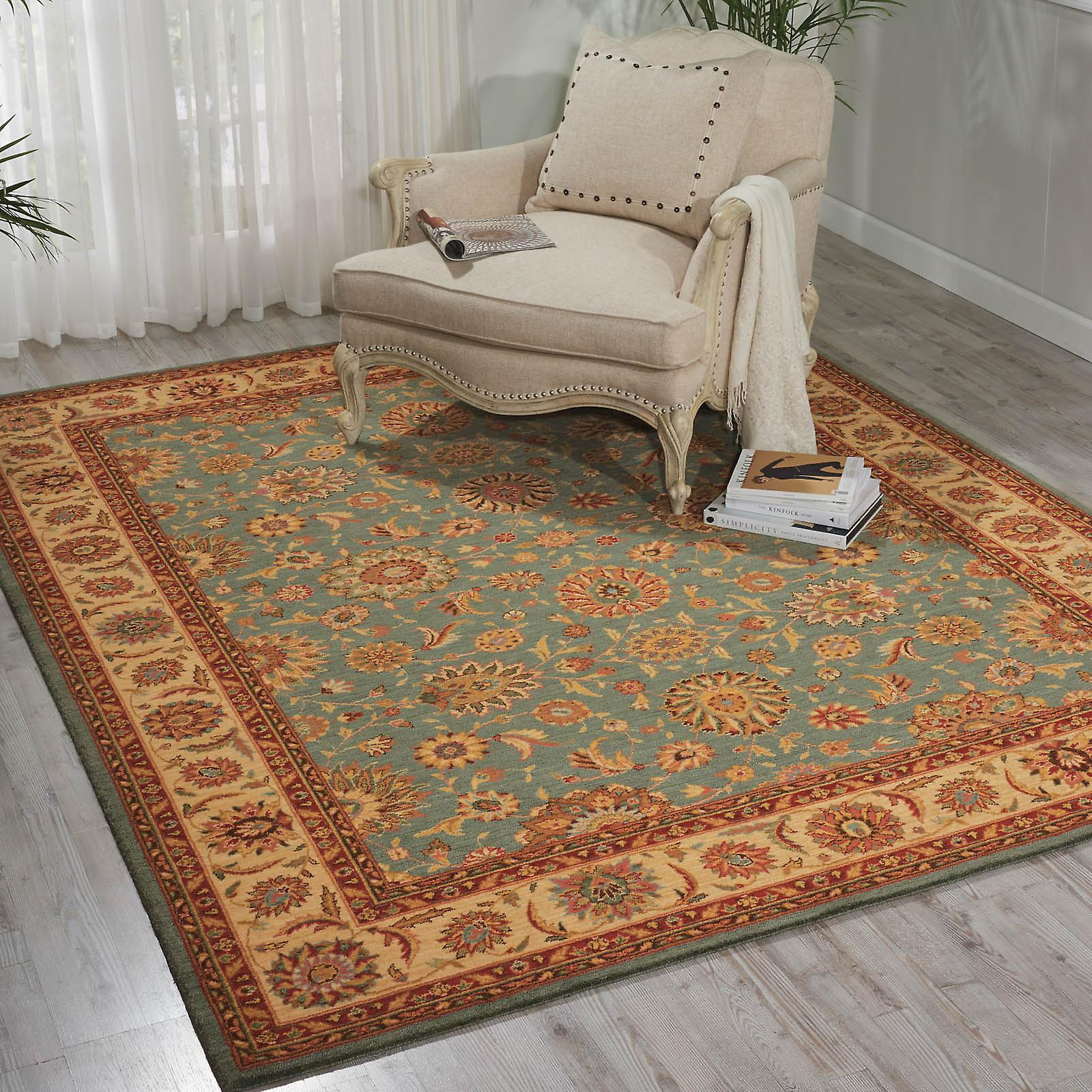 Living Treasure Rugs By Nourison Li05 In Aqua