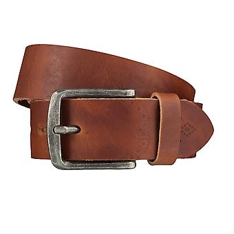 LLOYD Men's Belts Gürtel Herrengürtel Ledergürtel Brandy 4027