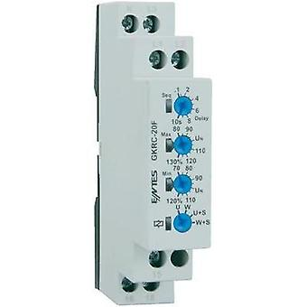 GKRC-20F voltage monitoring relay ENTES GKRC-20F Contact type SPDT-CO (8 A)