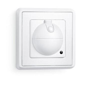 Flush mount HF motion detector Steinel 751111 360 ° Relay White IP20