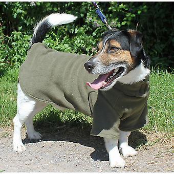 Cosi Fleece Coat Sage 35cm (14