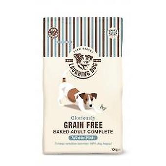 Griner hund herlig korn gratis komplet hvid fisk 10kg