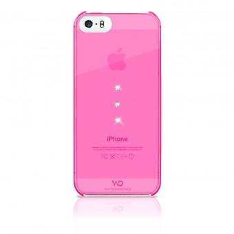 White DIAMONDS Shell iPhone 5/5s/SEE Trinity Pink