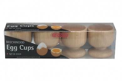 Beech Egg Cup Set