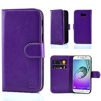32nd Book wallet case + stylus for Samsung Galaxy A3 (2017) SM-A320 - Purple