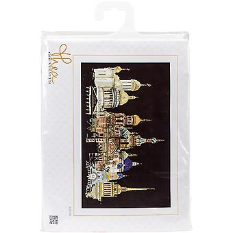 St. Petersburg On Aida Counted Cross Stitch Kit-31