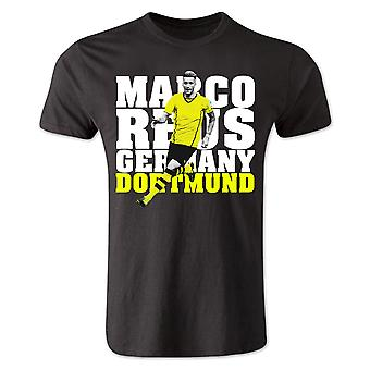 Marco Reus Dortmund Player T-Shirt (Black) - Kids