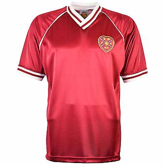 Heart of Midlothian 1987-1988 Retro Football Shirt