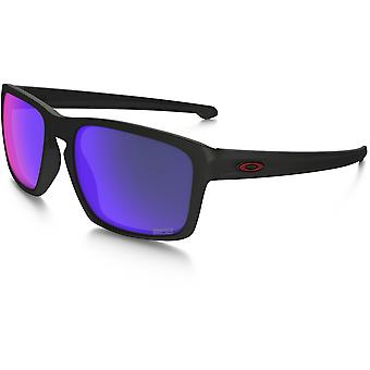 Oakley Sliver Marc Marquez Signature Edition Sunglasses(Positive Red Iridium Lens/Matte Black Frame)