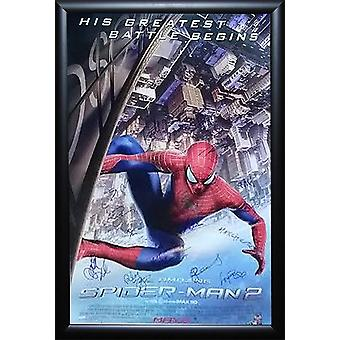 The Amazing Spider-Man 2 - Signed Movie Poster
