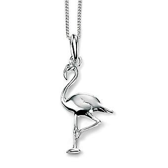 Flamingo collar de plata 925