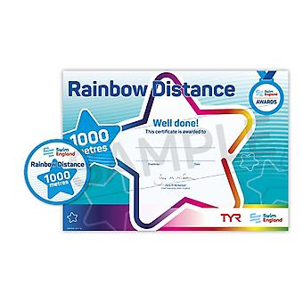 ASA Swim England Rainbow Distance Swimming Award - 1000M
