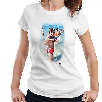 Ozzy Osbourne på stranden kvinder T-Shirt