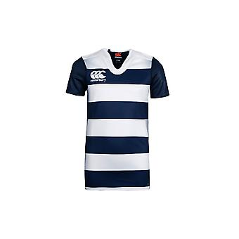 Canterbury Challenge Hooped Youth S/S Rugby Shirt